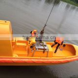 Types Marine Fast Rescue Boat/Totally enclosed Free fall Lifeboat For sale