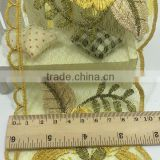 Embroidery Printting Organza Lace Trim,Crochet Lace Trim