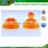Double Wall Flip Top Cap/Plastic Butterfly Shampoo Cap made from china
