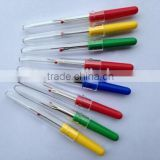Steel blade and plastic handle seam ripper