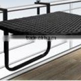 PE Poly Rattan Wicker Outdoor / Garden Furniture - balcony table