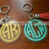 Factory directly sale high quality custom design best price promotional gift acrylic keychain