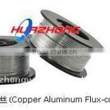 COPPER-ALUMINUM FLUX CORED BRAZING FILLER WIRE MANUFACTURER