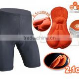Wholesale Cheap discount promotion 80% Nylon 20% Spandex Cycling Biking Shorts Gel 3-D Padded