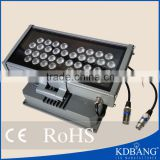 Hotel exterior lighting 36w industrial led outdoor wall lamp Epistar chip AC85-265V two years warranty