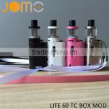 LCD display vape mod 60w kit variable wattages volts with temp control function