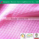 2016 wholesalepolyester lycra jacquard mesh fabric for sportswear Oeko-Tex100 certificated