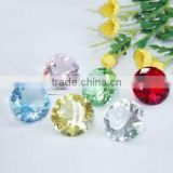 Wholesale colorful crystal acrylic diamond confetti for wedding table decoration wedding favors