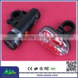 YT-M09-3 LED Bicycle Light Set 5LED Front white Light and 9LED Rear Red Light