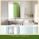Decorative Mirror Glass /Reflective Glass Sheet price Square Meter /Partition Wall Glass Manufacuture/Wall Decor
