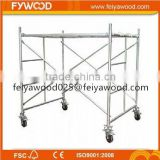 New hot sale double width aluminum mobile scaffolding,scaffolding for sale,fiberglass scaffold plank