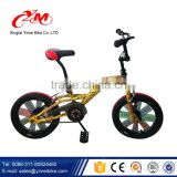Aluminium bmx freestyle bicycle