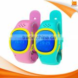 Bluetooth 3.0 smart phone children watch with GPS tracker SOS panic button