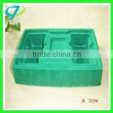 Velvet tray,with PP/PET/PVC/PS Double vacuum forming packaging / blister packaging / printing logo