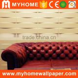 Best price pvc beautiful luxury wallpaper wall modern 3d wall panel for interior decoration