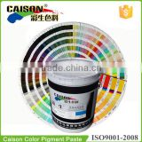 How to make Pantone color with Caison pigment paste(13-0000--13-0815)