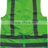 Green Reflective Safety Vest