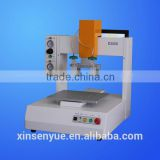3 axis two components glue dispensing machine with two dispensing heads robot