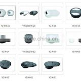 Alloy /plastic different shape cable grommet desk/wire box for computer desk from factory