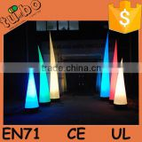 hot sale wonderful LED lighting Inflatable ivory price / inflatable LED cone price for party wedding christmas decoration
