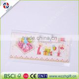 cute children kids floral cartoon design happy birthday invitation card home decoration party paper craft