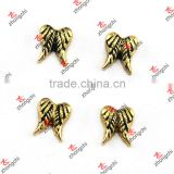 Gold Angel Wing Charms For Memory Lockets Wholesale