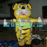 custom inflatable moving cartoon, inflatable tiger model