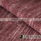 Textile Fabric Dubai Modern Spray Change Pattern Printed Flocking Sofa Fabric/ Flocked Upholstery Velvet Sofa Cover Suit Fabric