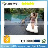 China new decking high quality rosewood co extruded wpc decking, co-extrusion bamboo composite decking