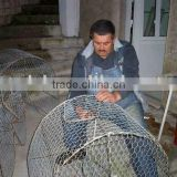 lobster trap/fishing wire netting