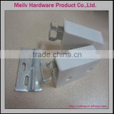 furniture hardware cabinet board iron and plastic hanging fiting