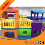 High quality indoor/outdoor playground baby playhouse kids plastic house