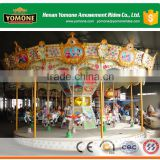 Park attractions of kiddie games amusement merry go round/carousel horses rides for sale