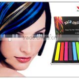 6colors set temporary color chalk hair for coloring hair