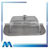 high quality plastic butter Dish