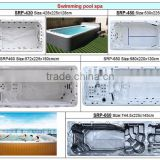 Luxury 7.5M European Style Outdoor Swim Spa/Swim Pool With Balboa