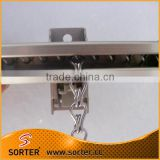 Metal,Aluminum Alloy Material and Curtain Tracks Curtain Poles, Tracks & Accessories Type rail for sliding curtain