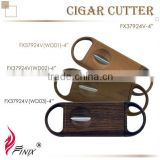 High Quality V-shaped Blade Custom Stainless Steel Cigar Cutters