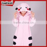 New Fashion Pikachu Adult Animal Women Sexy Ladies Jumpsuit Pajamas