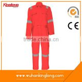 wholesale manufacturer 65% cotton 35%polyester NONE functional work wear one piece coverall/overall uniform