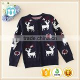 Autumn fashion new design black color kids girls cardigan sweaters/children clothing/coats/sweaters for winter wholesale