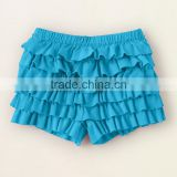 Boutique childrens clothing girls cotton icing ruffle shorts new sassy icing baby clothes