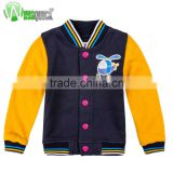 Oem Children Kids Fashion Jersey Jackets,Cotton Polyester Jacket,Baseball Jersey, High Quality Childrens Jersey Jackets