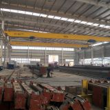 high efficiency single girder overhead travelling crane