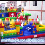 package mail inflatable rabbit castle jump bed combination air castle airplane inflatable slide
