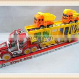 plastic drag head car toy, Friction truck toy