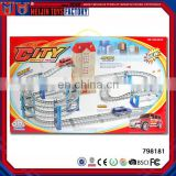Hot sale kid toy B/O rail car, plastic train toys set for kids
