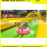 Large entertainment water slides outdoor inflatable street slides