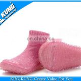 Baby rubber sole sock shoes,rubber shoe socks for kid