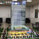 Building house scale model for real estate , architectural models making